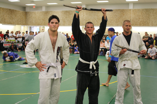 Tim Russell with Team Victor Huber BJJ