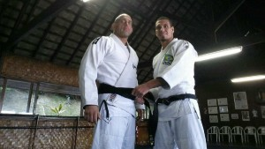 Judo black belt promotion