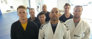 Submariners learning real Gracie Jiu-jitsu!