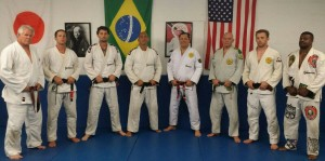 Rolker Gracie and Victor Huber with the black and brown belts on April 14th, 2017