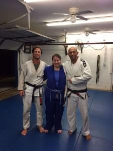 Jeff, Megan and Master Victor Huber