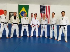 Victor Huber Black Belts at Rolker Gracie Seminar 2018