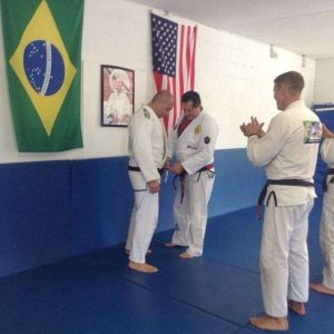 Victor receives 5th degree black belt from Rolker