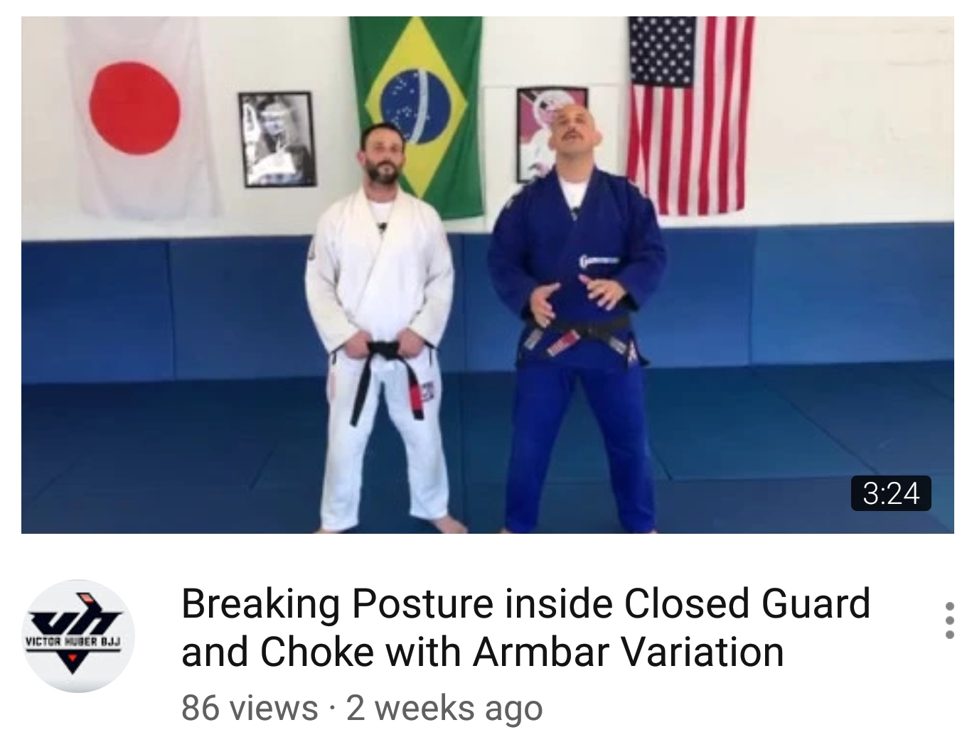 Victor Huber BJJ on YouTube