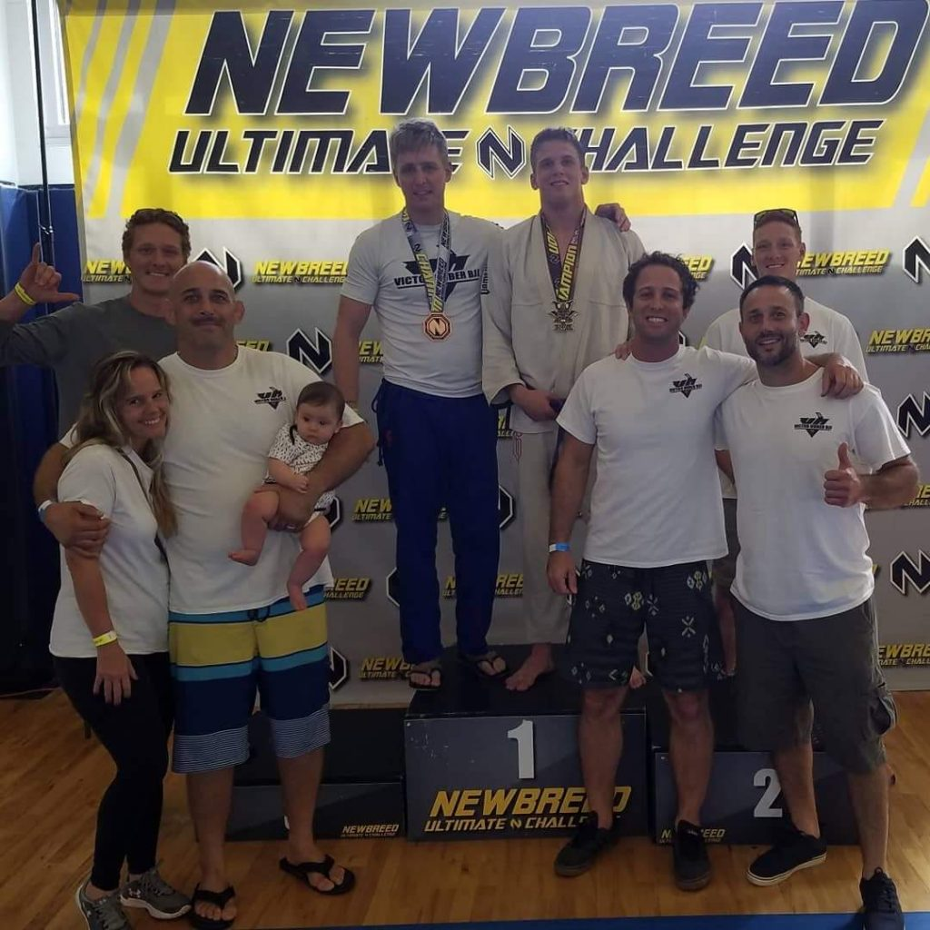 The Victor Huber gang at New Breed tournament