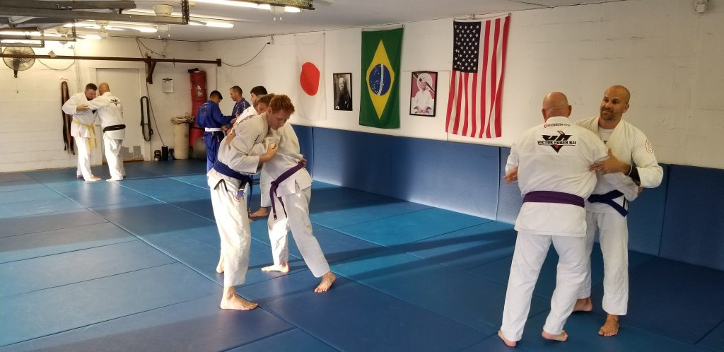 Training at Victor Huber BJJ